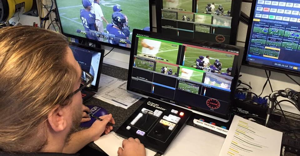 Behind the Scenes, Georgetown Football, Patriot League Network broadcasts